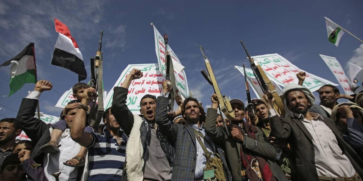 Yemen.- Los huthis aseguran haber derribado un dron de reconocimiento de EEUU en Yemen