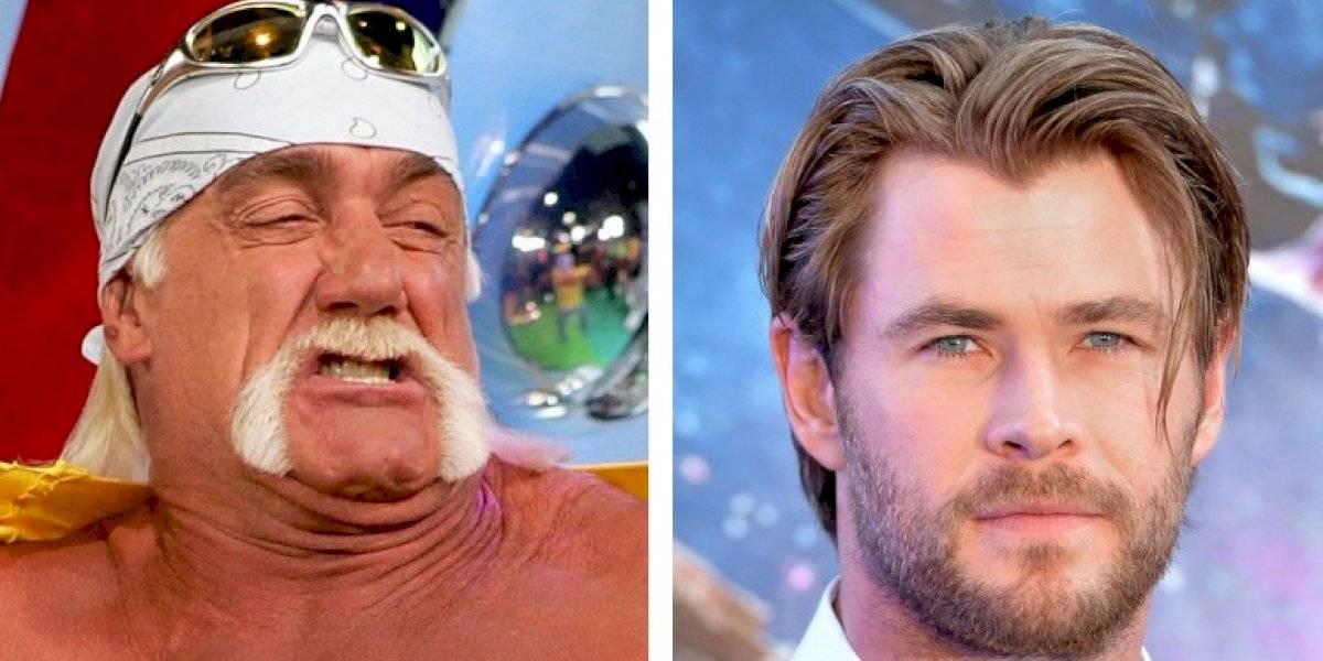 Muestran a Chris Hemsworth como Hulk Hogan