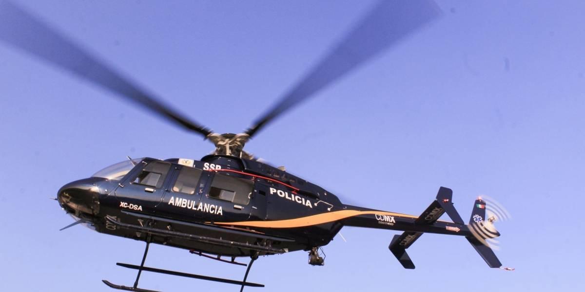 Cóndores de la SSC se han usado 48 veces como ambulancias aéreas