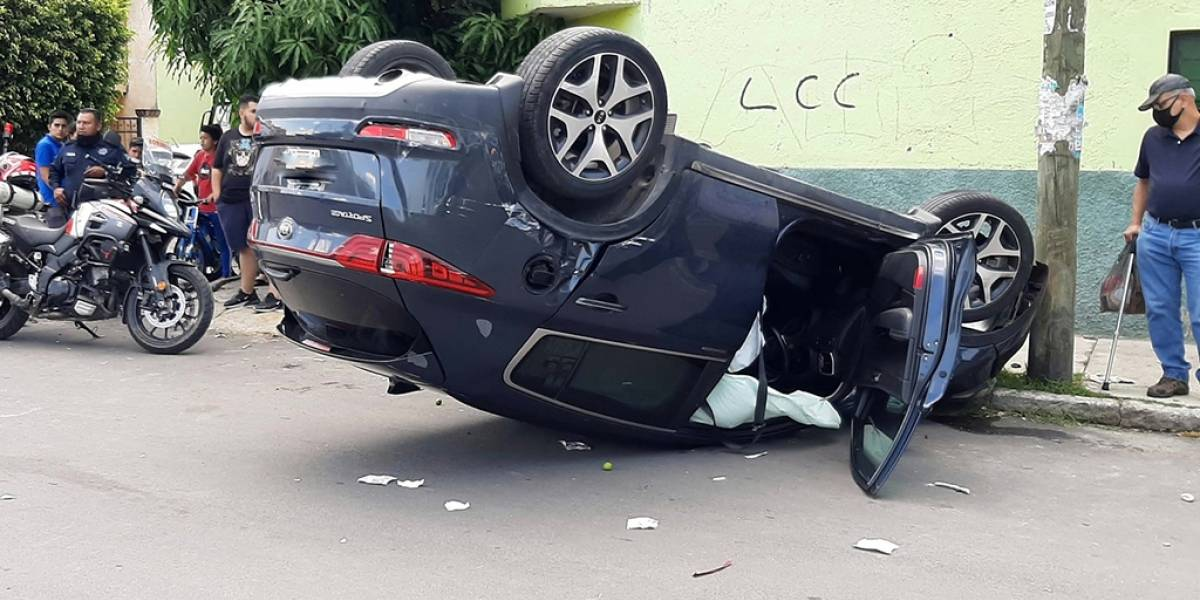 Se registran cuatro accidentes esta mañana en la Zona Metropolitana de Guadalajara