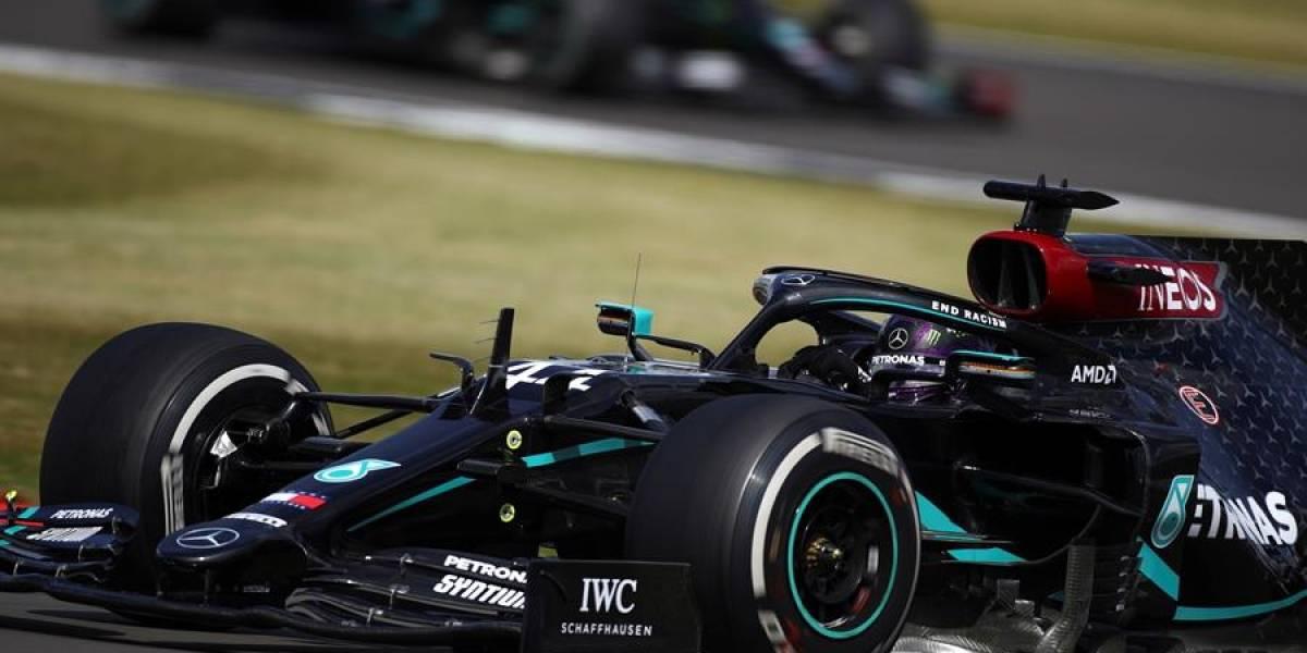 ¡Final de infarto en la F1! Hamilton gana con un neumático pinchado