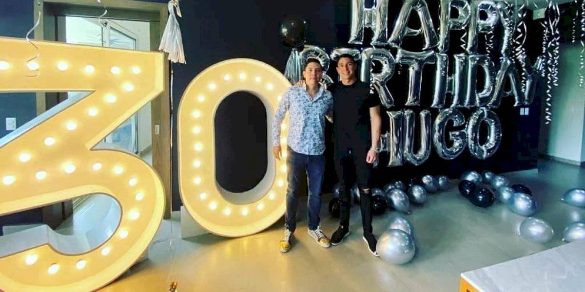 Hugo González celebra su cumpleaños sin 'Susana… distancia'