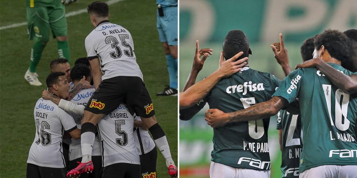 Corinthians e Palmeiras abrem a disputa pelo histórico caneco estadual