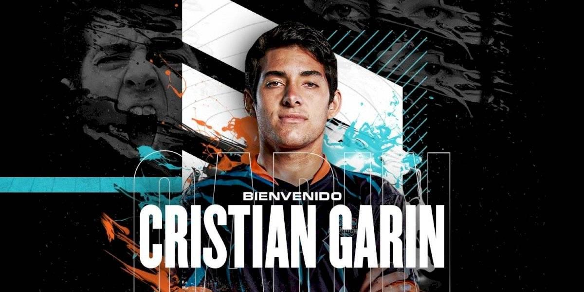 """Juega """"Fifa"""" y """"League of Legends"""": el tenista Cristián Garín se sumó como socio al equipo de esports """"All Knights"""""""