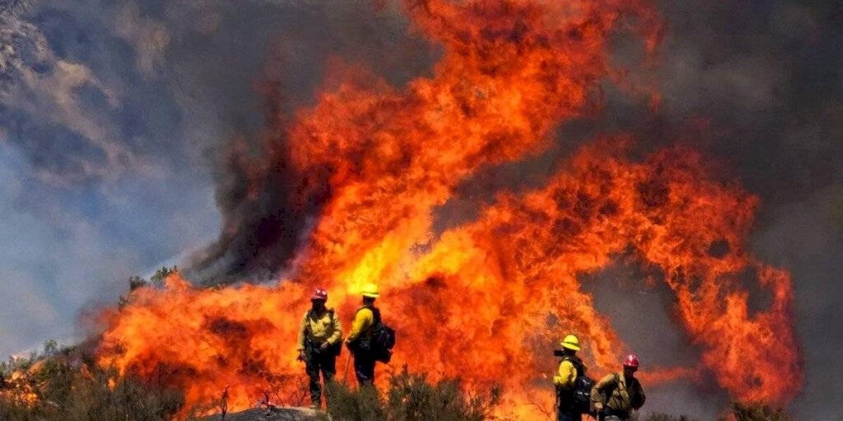 Miles de evacuados en California debido a los incendios