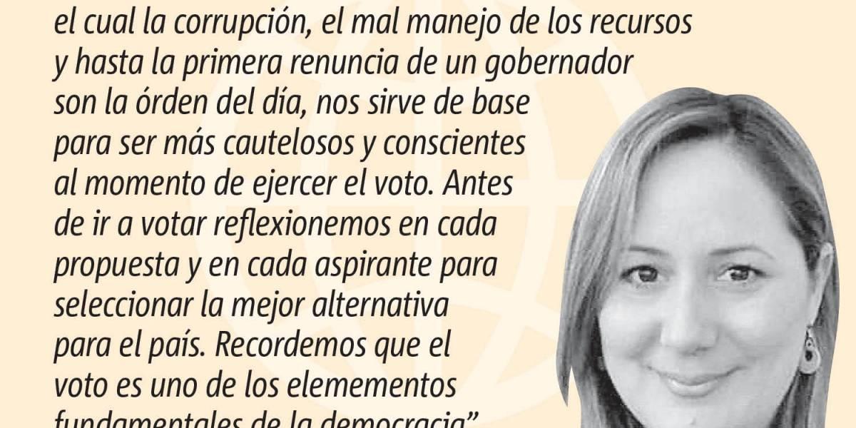 Opinión de Aracelys Otero Torres: No dejes que escojan por ti; A votar en las primarias del 9 de agosto