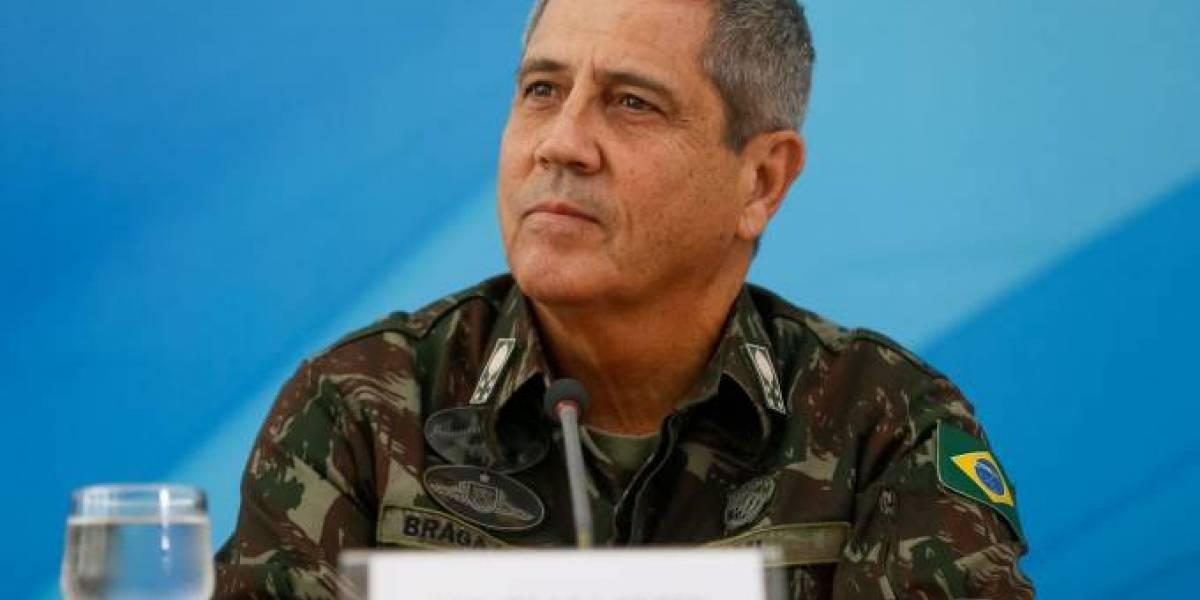 Braga Netto é diagnosticado com covid-19; é o 7º ministro a contrair a doença