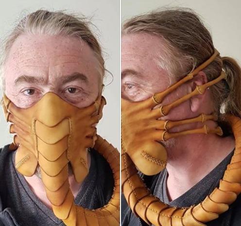 Mascara anti coronavirus Alien