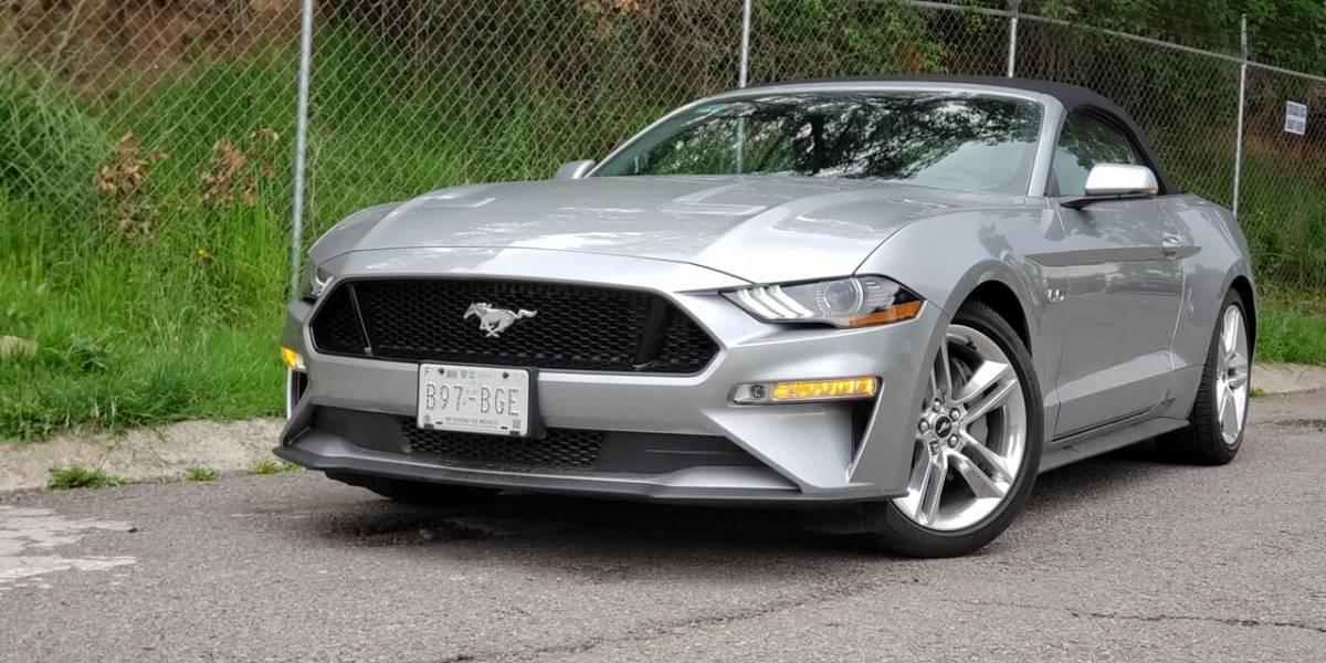 Así se maneja un Mustang Convertible
