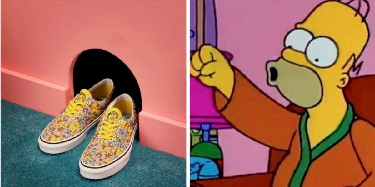 """""""Los Simpson"""" lanzan su línea de zapatos"""