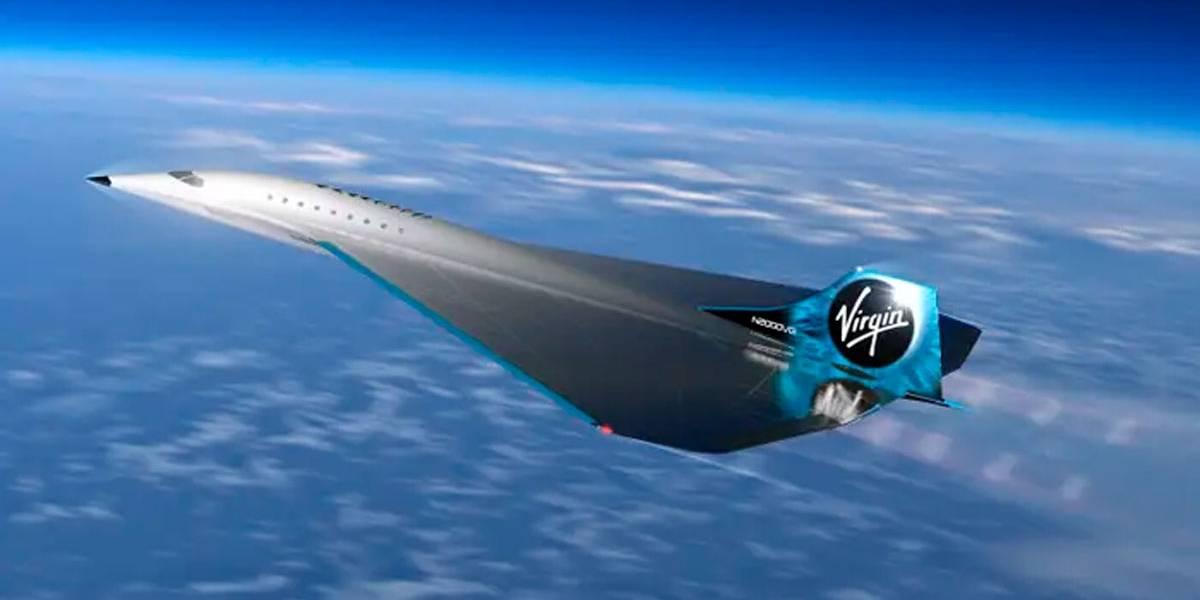 Virgin Galactic planeja avião para fazer Nova York-Londres em 90 minutos