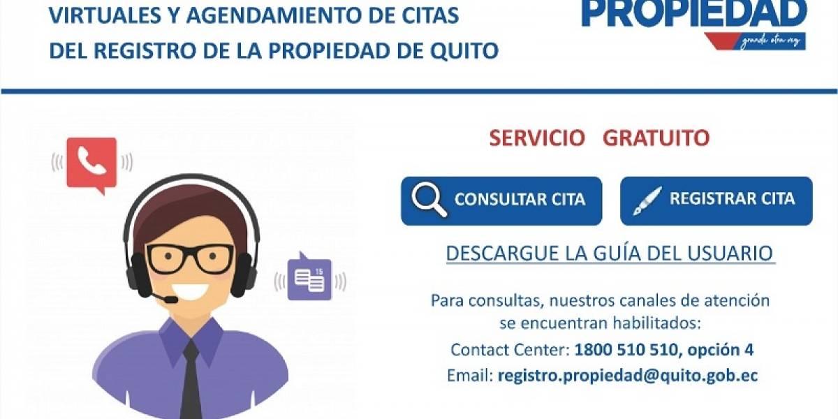 Registro de la Propiedad: así puede acceder al sistema de turnos en línea