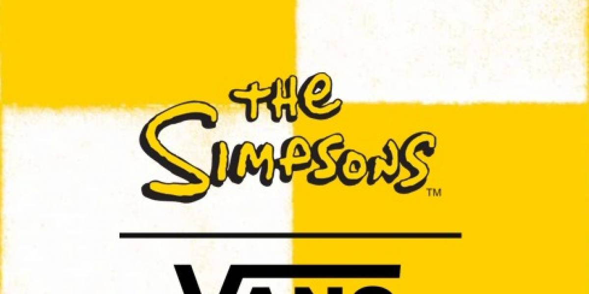 Los Simpson tendrán su propia colección de Vans y estos son los productos