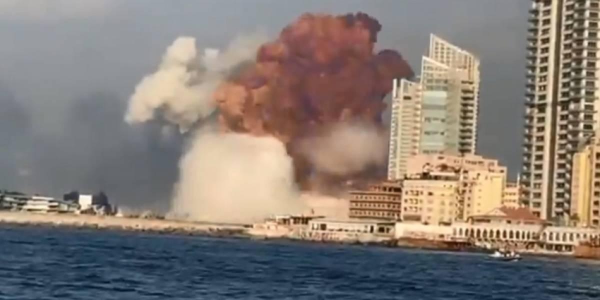Explosão no Líbano pode ter sido causada por armazenamento de nitrato de amônia