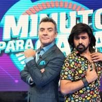 """Así fue como Albertano enseñó a """"ligar"""" a Héctor Sandarti en Minuto para ganar VIP"""