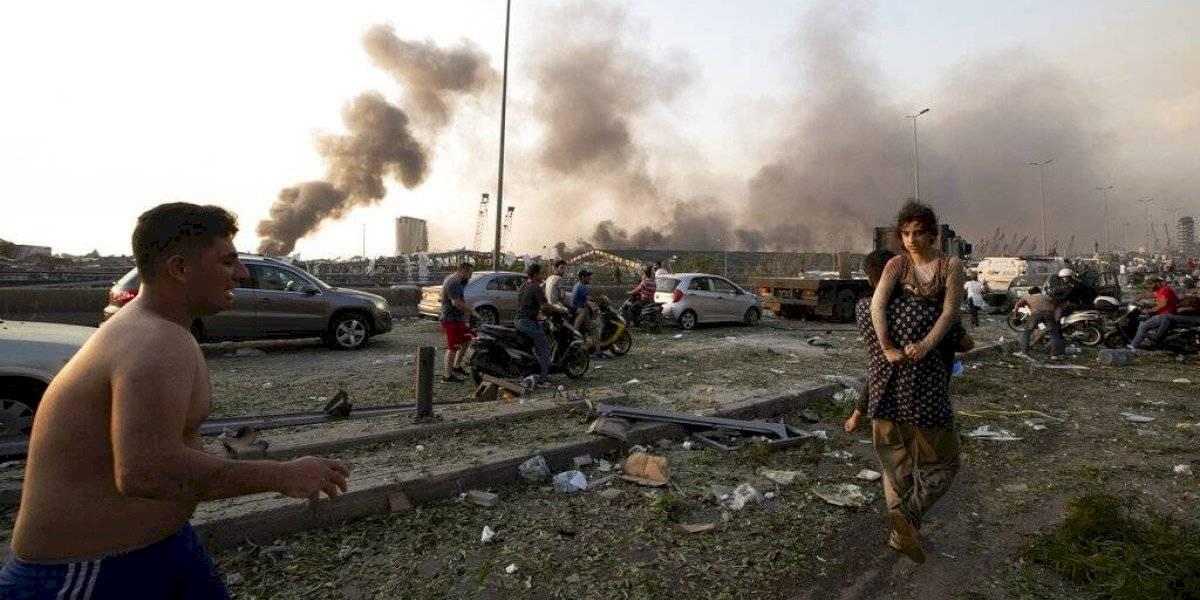Explosión en Beirut deja más de 70 personas muertas y 3,000 heridos