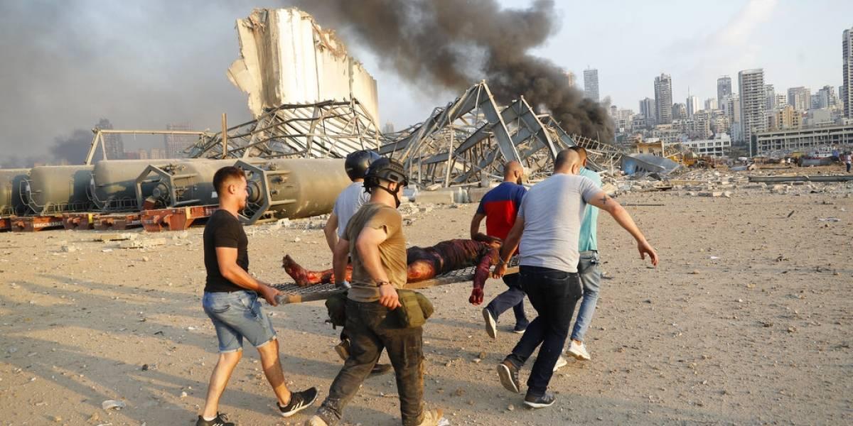 Suben a 220 los fallecidos por explosiones en Líbano