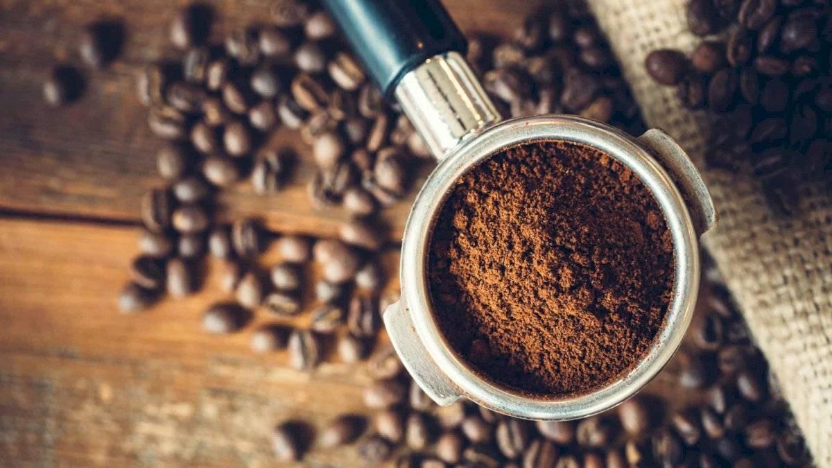 El café es tan efectivo como el azúcar para la exfoliación de la piel.