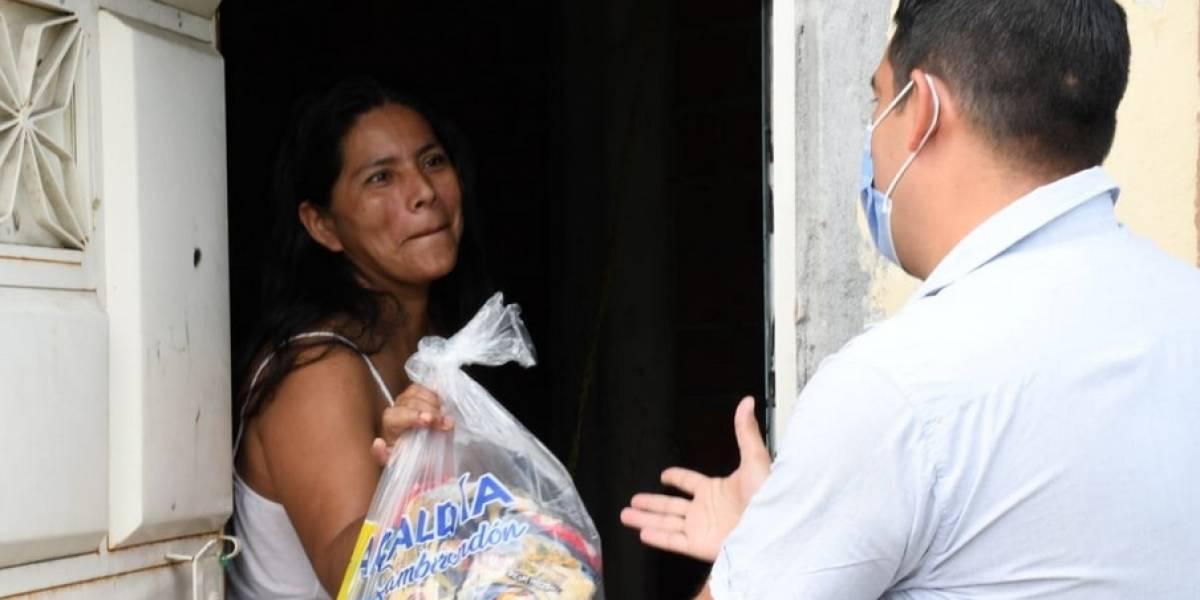 Municipio de Samborondón entregó cerca de 100.000 raciones alimenticias