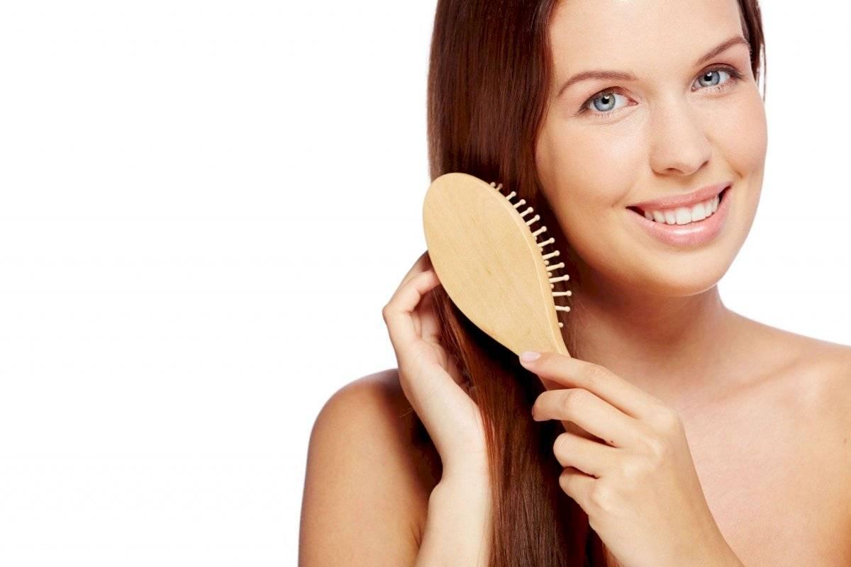Cepillarse repetidamente ayuda al fortalecimiento del cabello
