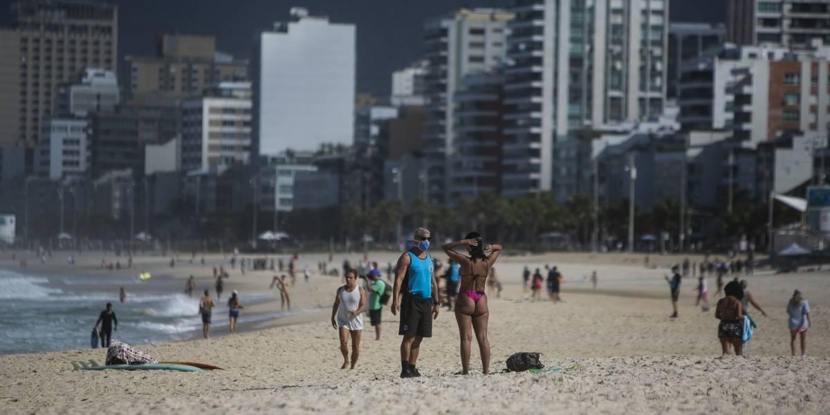 Para evitar aglomeração, praias do Rio vão receber demarcações na areia