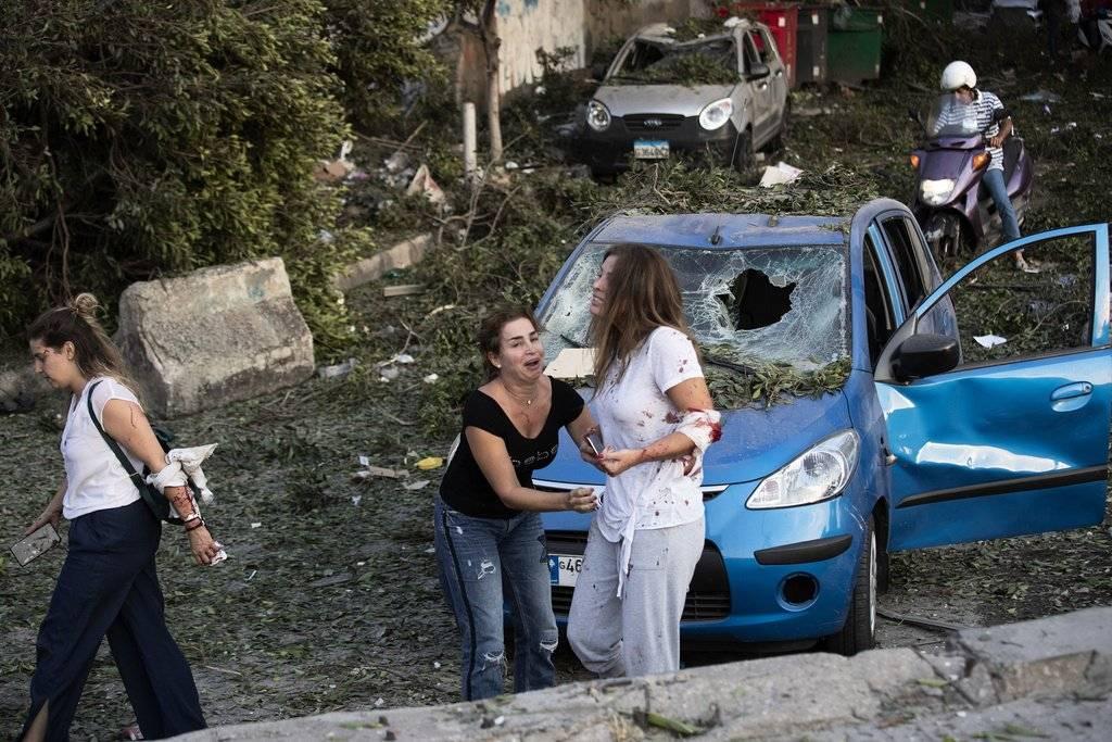 Libano Explosión