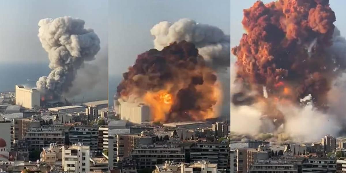 Líbano: las cifras van en aumento tras las explosiones en Beirut y ya se registran 50 muertos y más de 2.700 heridos