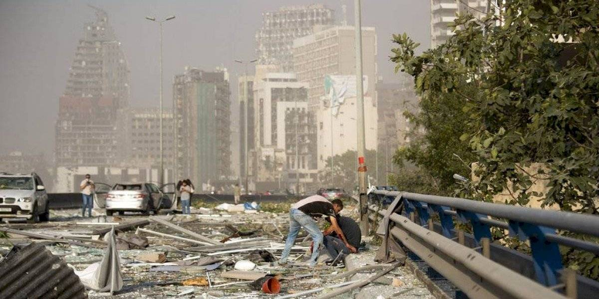 Líbano declara día de luto nacional tras la explosión en Beirut