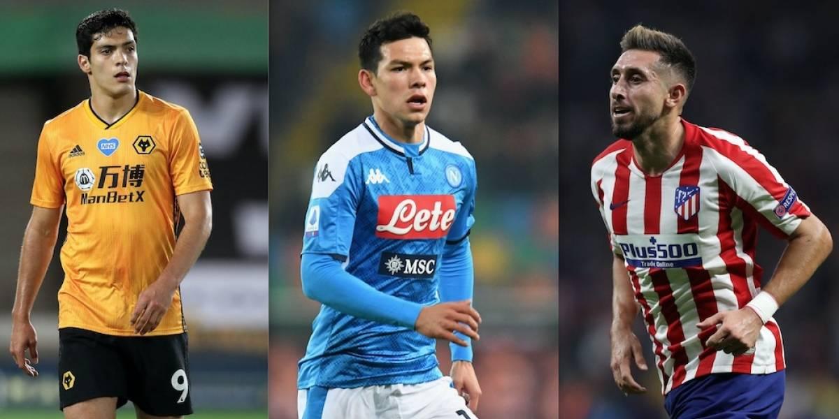 Jiménez, Chucky y Herrera van por la Europa y la Champions League