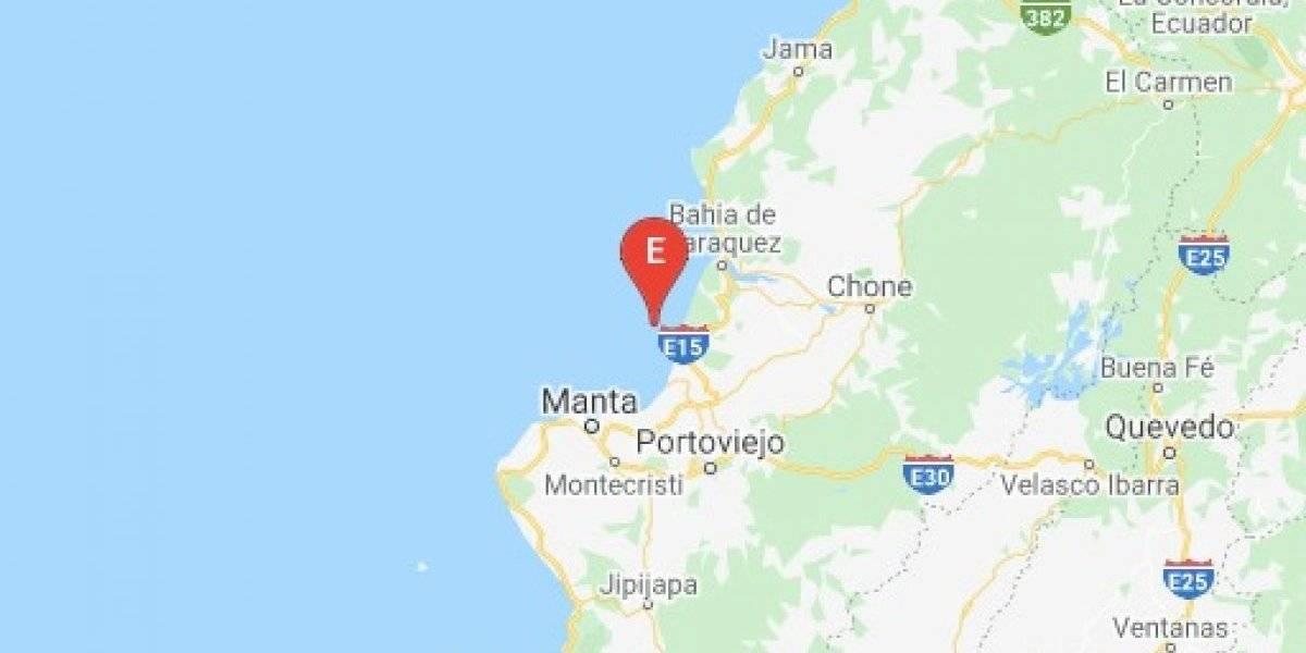 Sismo de 3.6 grados en la escala de Richter en Manabí