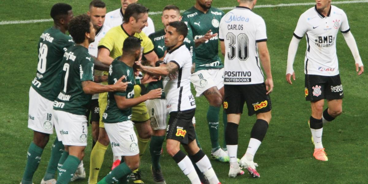 Corinthians e Palmeiras ficam no 0 a 0 em primeiro encontro da final do Paulistão