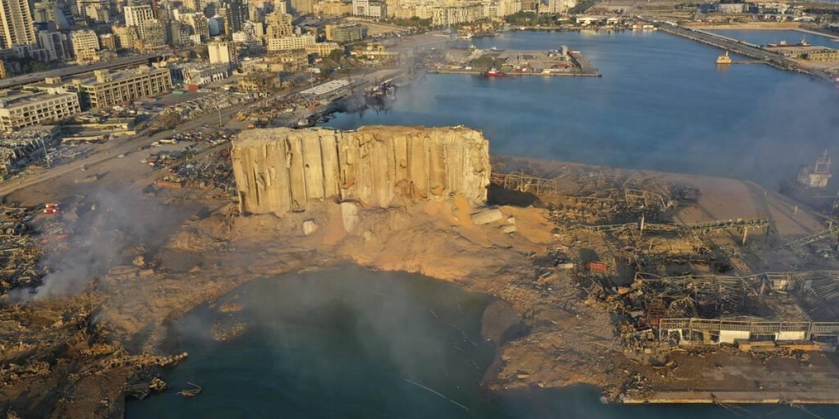 Destrucción total: al día siguiente así se ve Beirut tras la gigantesca explosión