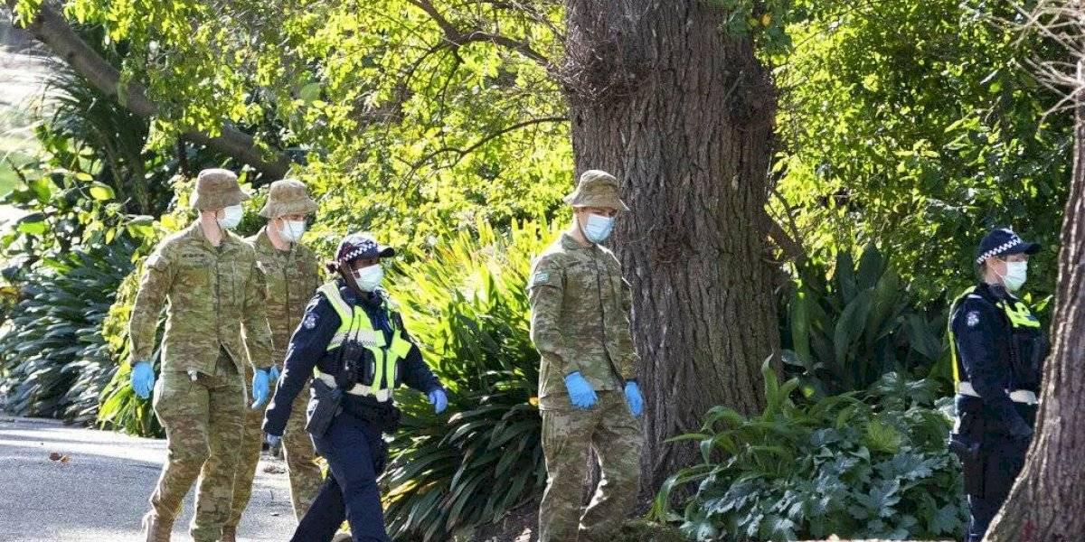 Aumento récord de casos coronavirus en un estado australiano
