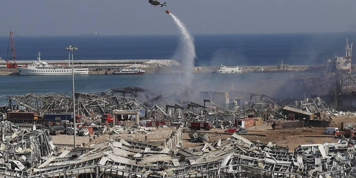 ¿Qué fue lo que provocó la fuerte explosión en Beirut?