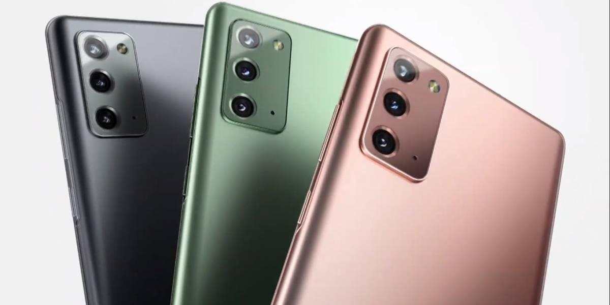 Samsung Galaxy Note20 y Galaxy Note20 Ultra: estos serán sus precios en México