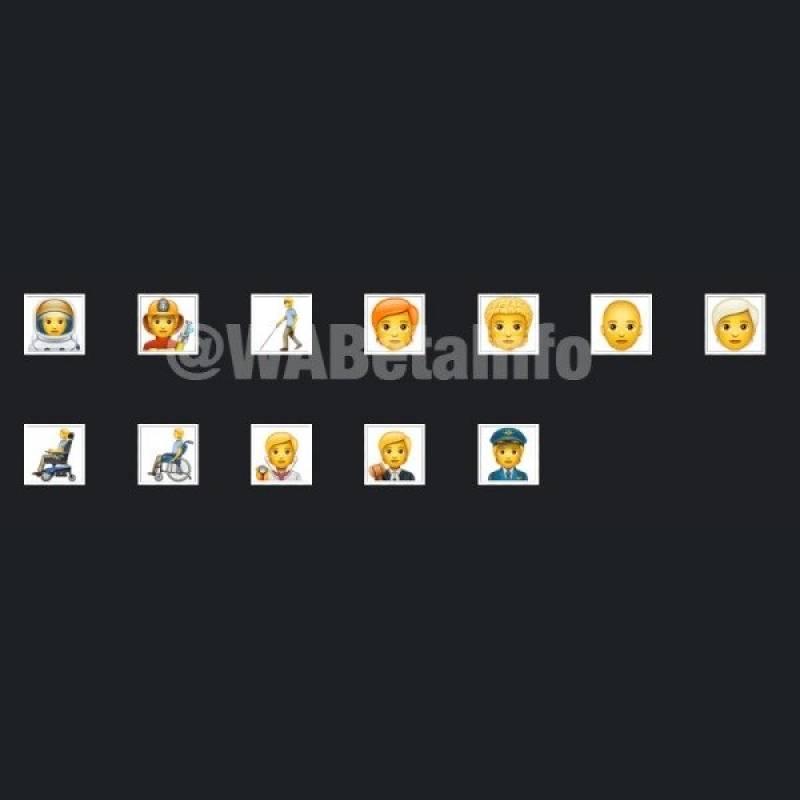 WhatsApp en Android: estos son los 138 emojis nuevos que llegan a la app