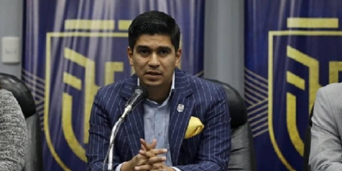 Conmebol suspende por tres meses a Jaime Estrada y otros 5 miembros del directorio de la FEF