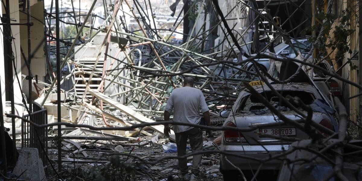 Explosões podem deixar Líbano sem comida, diz ONU