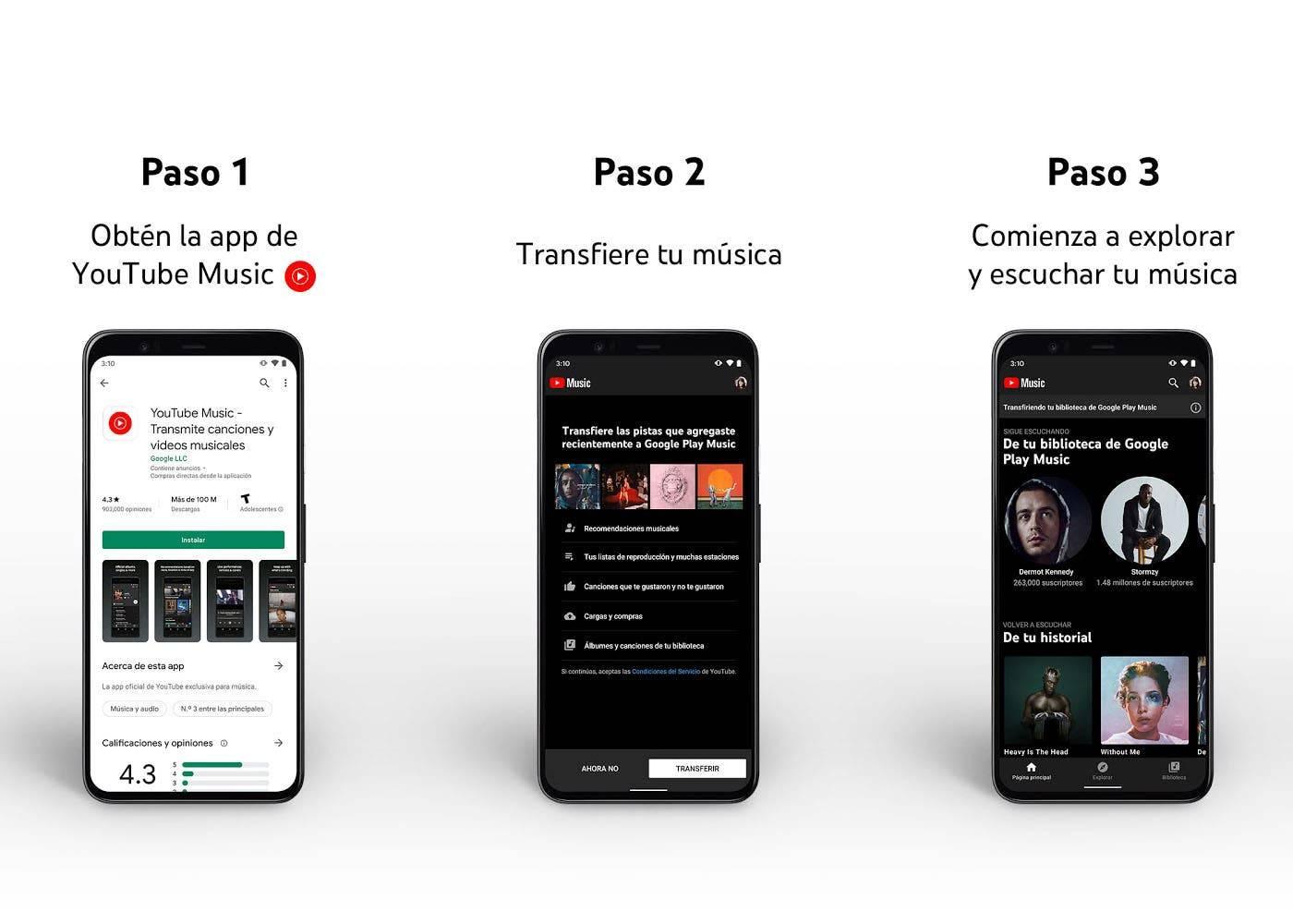 Google Play Music desaparecerá por completo en diciembre, así puedes salvar tu música
