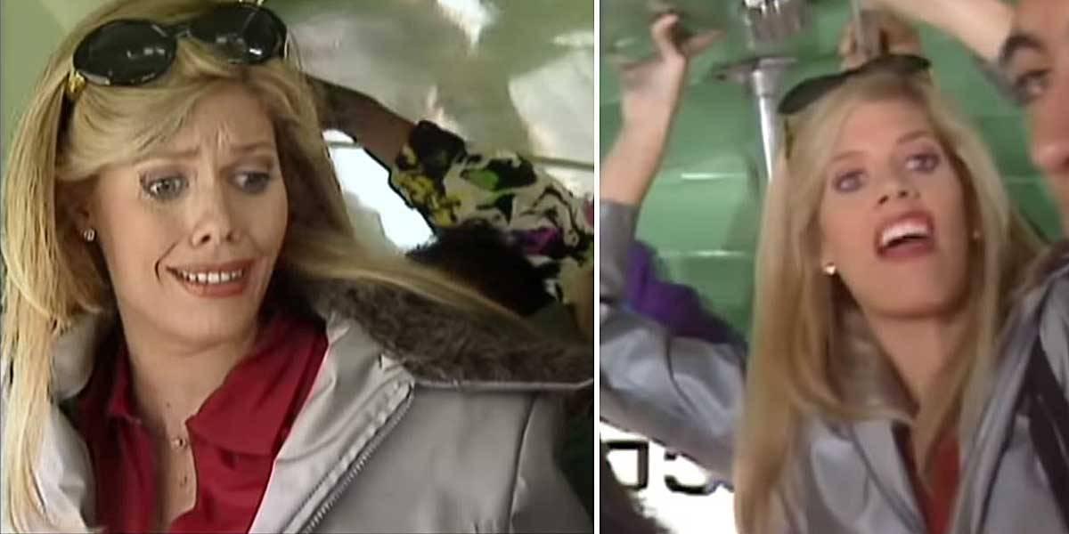 """Lorna Cepeda reveló el bochornoso momento que vivió durante la grabación de la escena del bus en """"Betty, la fea"""""""