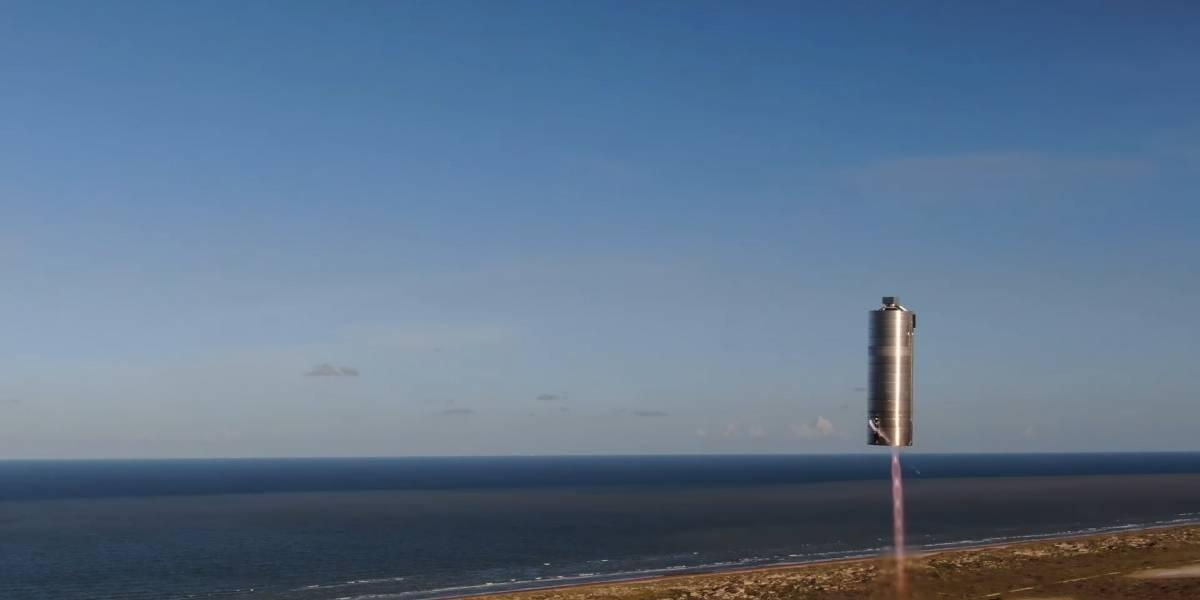 SpaceX: Prototipo del Starship vuela 150 metros en su primera prueba exitosa