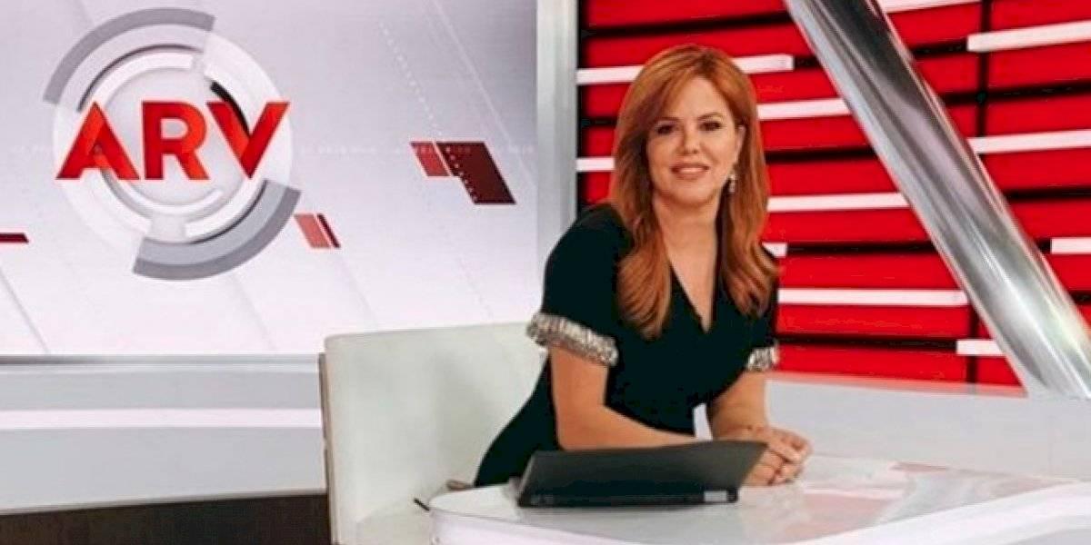 María Celeste Arrarás se vacila su salida de programa de televisión