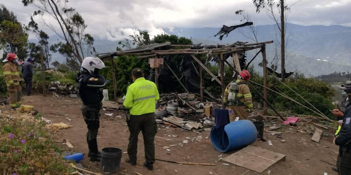 Explosión en Pelileo deja una persona fallecida y otras tres heridas
