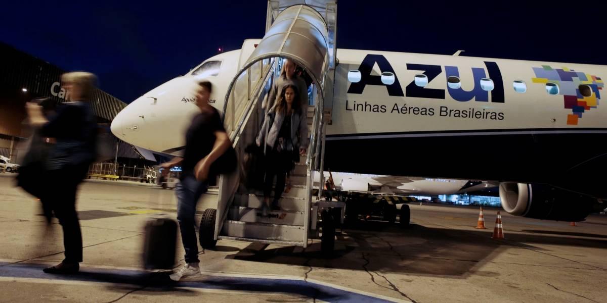 Companhia Azul aumenta oferta de voos e inclui novas rotas a partir desta terça (1º)