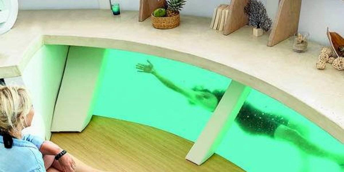 Anthénea es la primera suite de hotel flotante y ecológica del mundo