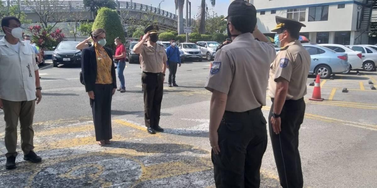 116 policías de Quito llegan a reforzar seguridad en Guayaquil