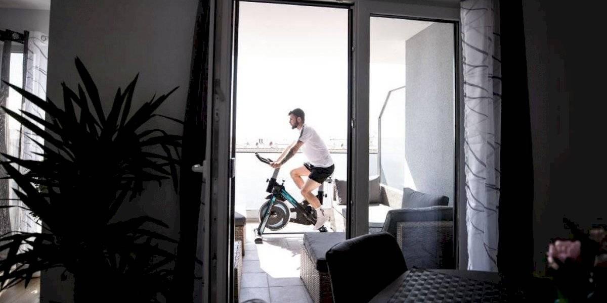 La alternativa para mantenerse en forma en pandemia: ciclismo virtual