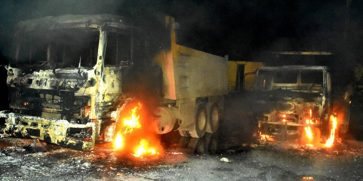 Camioneros llaman a no transitar de noche por La Araucanía