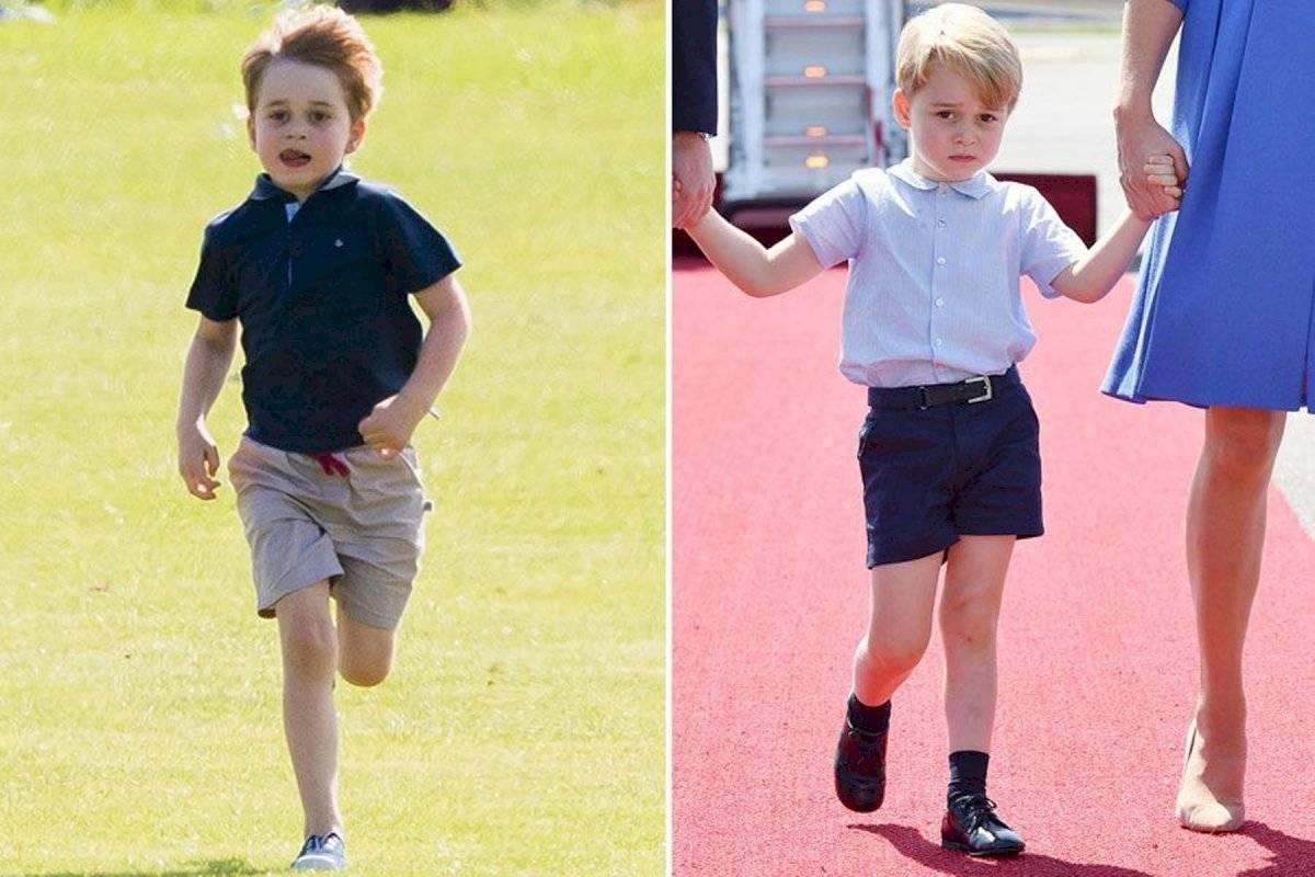 Los pantalones en la realeza solo están permitido para niños que hayan cumplido los 8 años