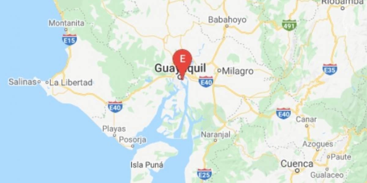 Sismo en Guayas se registró este 6 de agosto